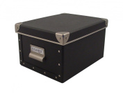 Cargo Naturals Media Storage Box, Graphite, 6 by 27cm by 20cm