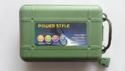 Broadhead Case Box(hold 6) Green Plastic Broadhead Protector Portable Convenient