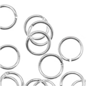 Silver Plated Open 5mm Jump Rings 21 Gauge