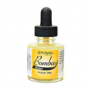 Dr Martins Bombay India Ink 30ml Yellow