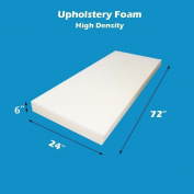 15cm X 60cm X 180cm Upholstery Foam Cushion High Density Standard