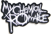 MY CHEMICAL ROMANCE Rock Heavy Metal Punk Music Band Logo Patch Sew Iron on Embroidered Badge Sign Costume Gift