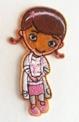 small doc mcstuffins iron on/ sew on Embroidered patch