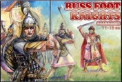 PLASTIC MODEL FIGURES Russ foot knights, XI-XIII cc 1/72 Orion 72031