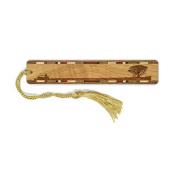 Lone Tree Engraved Wooden Bookmark with Tassel