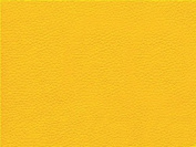 Faux Leather Fabric Calf Yellow