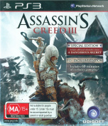 Assassins Creed III 3 Special & PS3 Exclusive Edition