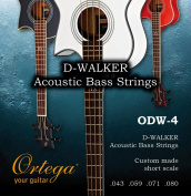 Ortega Guitars ODW-4 Acoustic Bass Strings for Ortega D-Walker Short Scale Basses