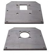 HR-6010 TailTwister Rotator Plates for use on Glen Martin Hazer H-2 / H-3 Trams