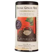 The Republic of Tea, Orange Ginger Mint Tea, 36-Count