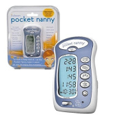 Pocket Nanny By Itzbeen Personal Baby Care Timer (Blue) - Award Winning Must-Have for Moms by Itzbeen