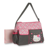 Hello Kitty Duffle Nappy Bag, Pink