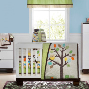 Arbour Friends 4 Piece Baby Crib Bedding Set by Not Neutral