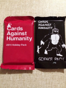 Cards Cagainst Humanity Science & Holiday Pack Bundle