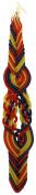 Majestic Giftware SC-HMC12F Safed Havdalah 12-Wick Candle, 36cm , Multi Colour
