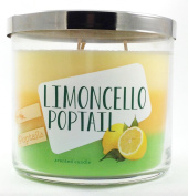 Bath & Body Works Scented 3 Wick Candle 430ml LIMONCELLO POPTAIL