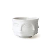 Jonathan Adler White Porcelain Muse Votive Candle Vessel