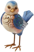 Jim Shore Heartwood Creek Mini Bluebird Figurine, 8.9cm