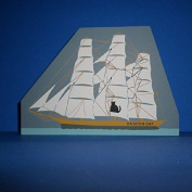 Cat's Meow Village ** Dancing Cat Clipper Ship ** #249