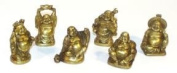 Set of 6 Buddha Figurines - 5.1cm