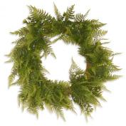National Tree Garden Accents Boston Fern Wreath, 60cm , Green