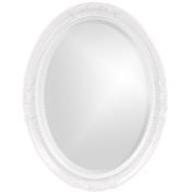 Howard Elliott 40101 Queen Ann Mirror, White