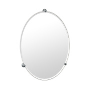 Gatco 1565 Oldenburg Frameless Mirror, Chrome