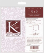 K & Company Postbound Page Protectors 6x6