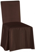 SALLY TEXTILES Jenny Chair Cover, Chocolate
