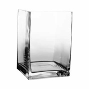 20cm Tall Contemporary Rectangle Vases