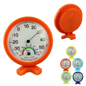 Sunward Newest Hot Sale Cute Pratical Indoor Outdoor Accurate Pointer Display Hygrometer Temperature Humidity Metre
