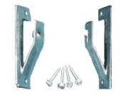 1 pair Roller Window Shade ADJUSTABLE INSIDE MOUNT BRACKETS from Shade Doctor of Maine