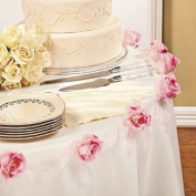 Pink Rose Garland - Party Decorations & Garland