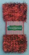 15m of Red Tinsel Garland