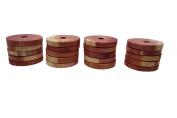 Cedar America Natural Aromatic Cedar Wood Hanger Rings, 2-Pack