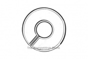 Hangers Dividers - Round Size Rack Dividers for Clothes Stores or Home - 100 Pcs Box