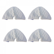 wi8® New 4pcs replacement Microfiber Triangle Pads for Shark Steam Pocket Mop S3501 S3601 S3550