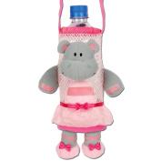 Stephen Joseph Ballet Hippo Bottle Holder - Bottle Buddy - Cute Kids Gift