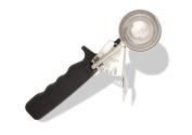 Crestware DD30 Ergonomic Deluxe Thumb Disher, Size 30, Black