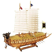 "[Wood Model Kit] 1/100 Scale Turtle Ship ""Korean Warship"" Keo-book-sun"
