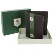 Visconti Compact Oiled Leather ARROW Wallet 705