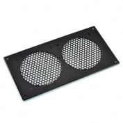 AC Infinity AIRPLATE A7, Ventilation Grill for PC Computer AV Electronic Cabinets, also mounts two 120mm Fans