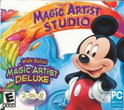 Disney Magic Artist Studio W/free Disney Magic Artist Deluxe