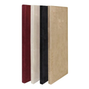 ATS Acoustic Panel 24x 48Inches x 5.1cm in Camel Microsuede