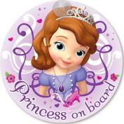 Disney Princess Sofia on Board 'Baby On Board' Car Window Sign