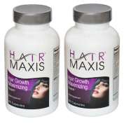 2 Xbottle of Hair Maxis Supplement support Faster Growth Healthier Softer Stops Hair Loss