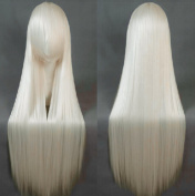 Chic Lady Women's Long Straight Hair Cosplay Cartoon Club Hairpiece Wig Prop