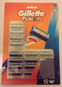 Gillette Fusion Razor Blades - Pack of 16