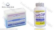 Ivory Caps Skin Whitening/ Lightening Pills 1500mg +Relumins Whitening Soap for Intensive Repair