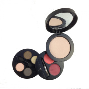 Famous By Sue Moxley 3 Layer Compact On The Go Bronzing Kit - Highlight